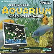 Freshwater Aquarium Video ScreenSavers