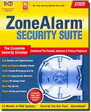 ZoneAlarm Security Suite 2005